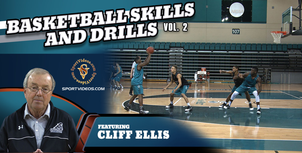 Basketball Skills and Drills Vol. 2 featuring Coach Cliff Ellis (Download)