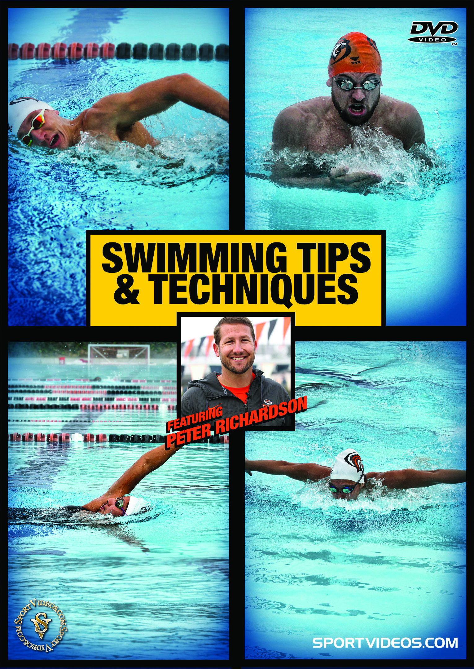 Swimming Tips and Techniques DVD or Download - Free Shipping