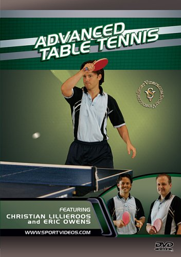 Advanced Table Tennis DVD with Coach Christian Lillieroos