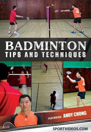 Badminton Tips and Tecniques DVD or Download - Free Shipping