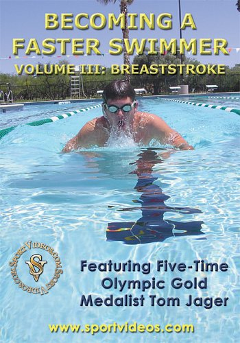 Becoming a Faster Swimmer: Breaststoke DVD or Download - Free Shipping