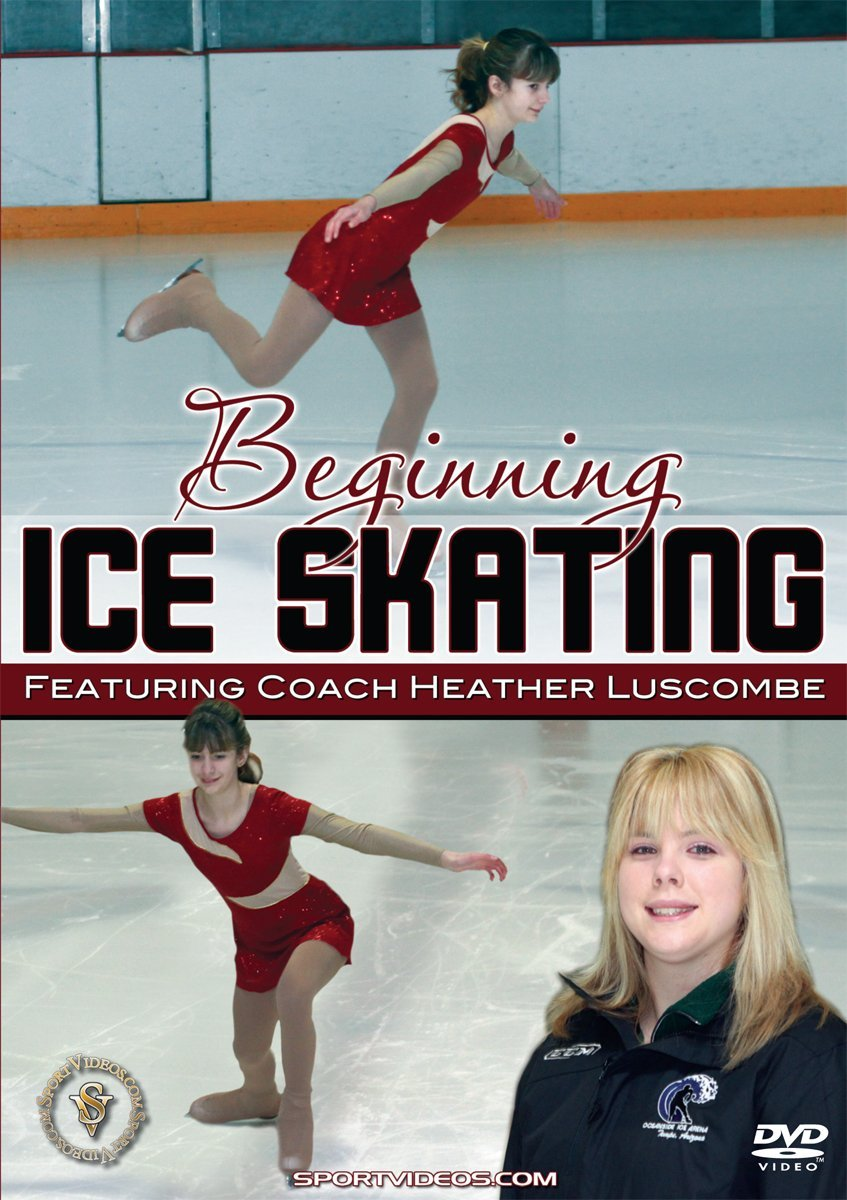 Beginning Ice Skating DVD with Coach Heather Luscombe