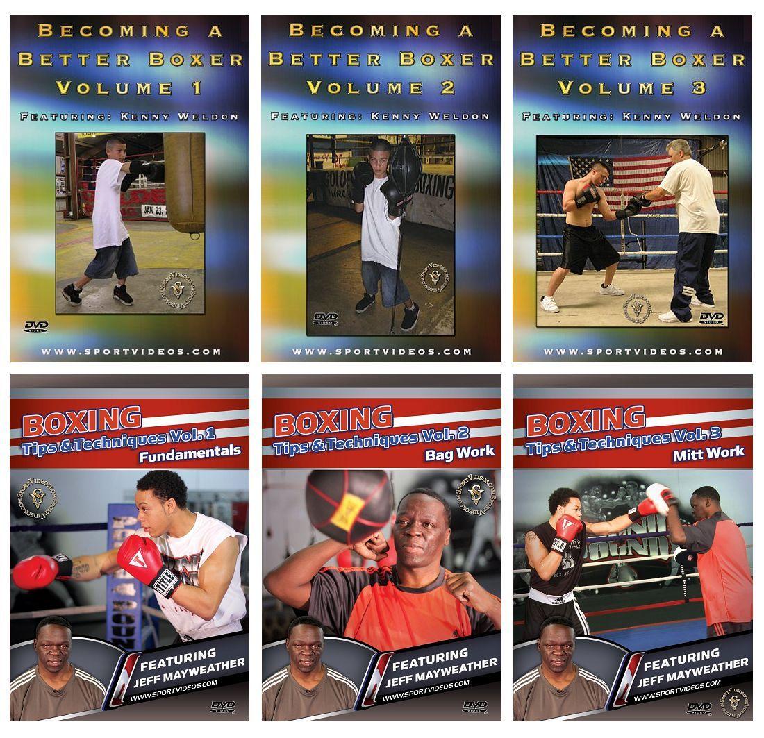 Boxing 6 DVD Set - Free Shipping