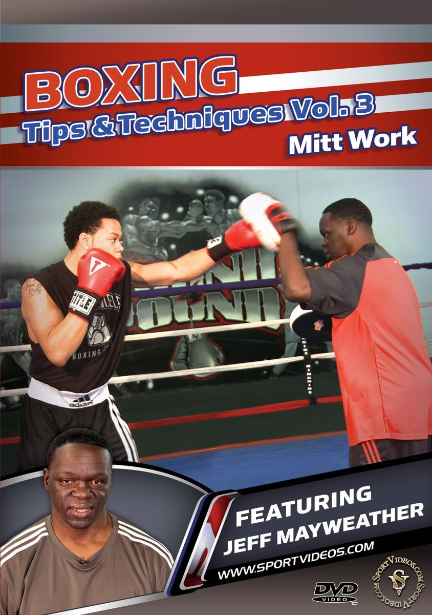 Boxing Tips and Techniques Vol 3: Pad Drills DVD with Coach Jeff Mayweather