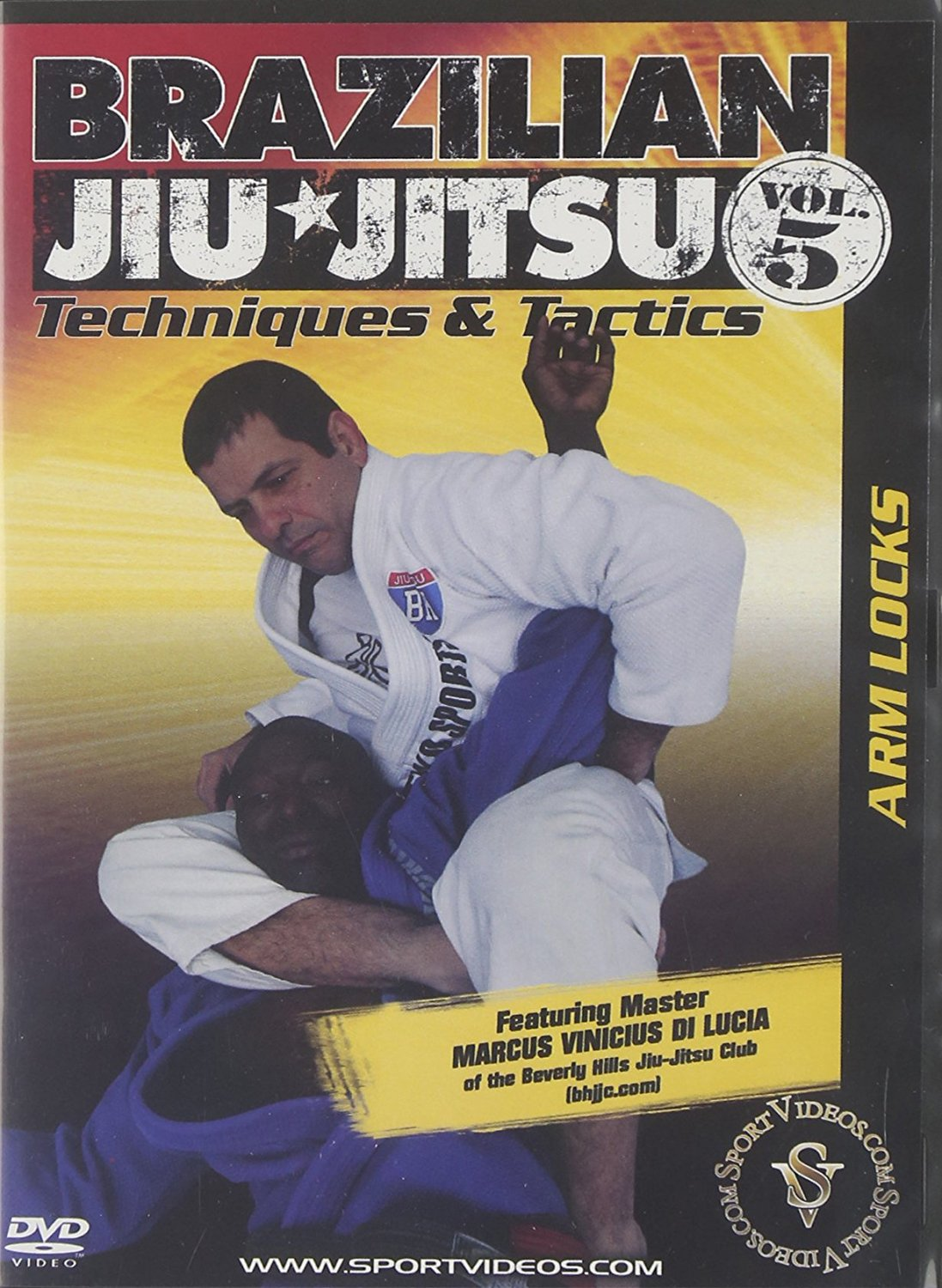 Brazilian Jiu-Jitsu Techniques and Tactics: Arm Locks DVD