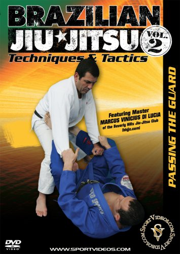 Brazilian Jiu-Jitsu Techniques and Tactics: Passing the Guard DVD