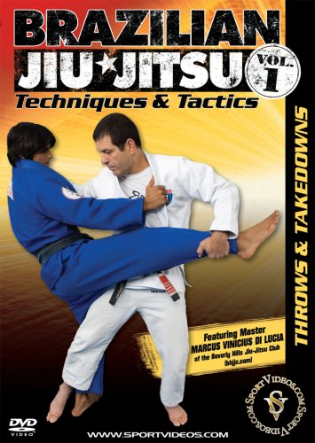 Brazilian Jiu-Jitsu Techniques and Tactics: Throws & Takedowns DVD