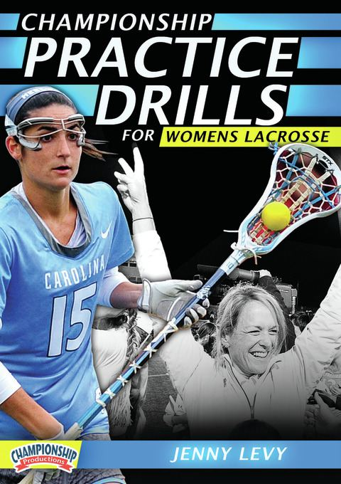 Championship Practice Drills for Women's Lacrosse DVDs