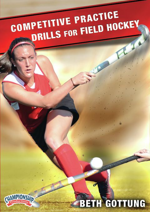 Competitive Practice Drills for Field Hockey DVDs