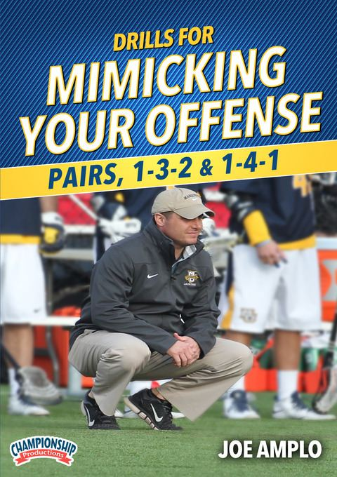Drills for Mimicking Your Offense: Pairs, 1-3-2 & 1-4-1 DVDs