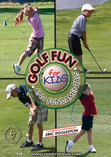 Golf Fun and Fundamentals for Kids DVD or Download - Free Shipping