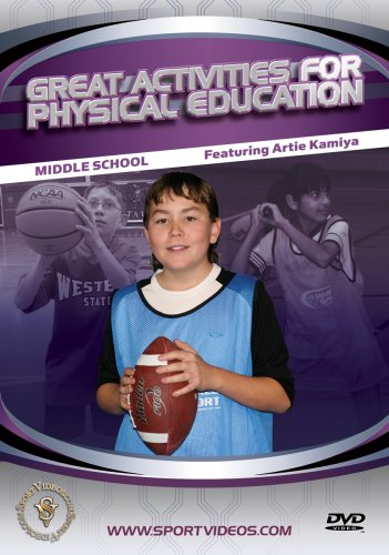 Great Activities for Physical Education: Middle School DVD or Download - Free Shipping