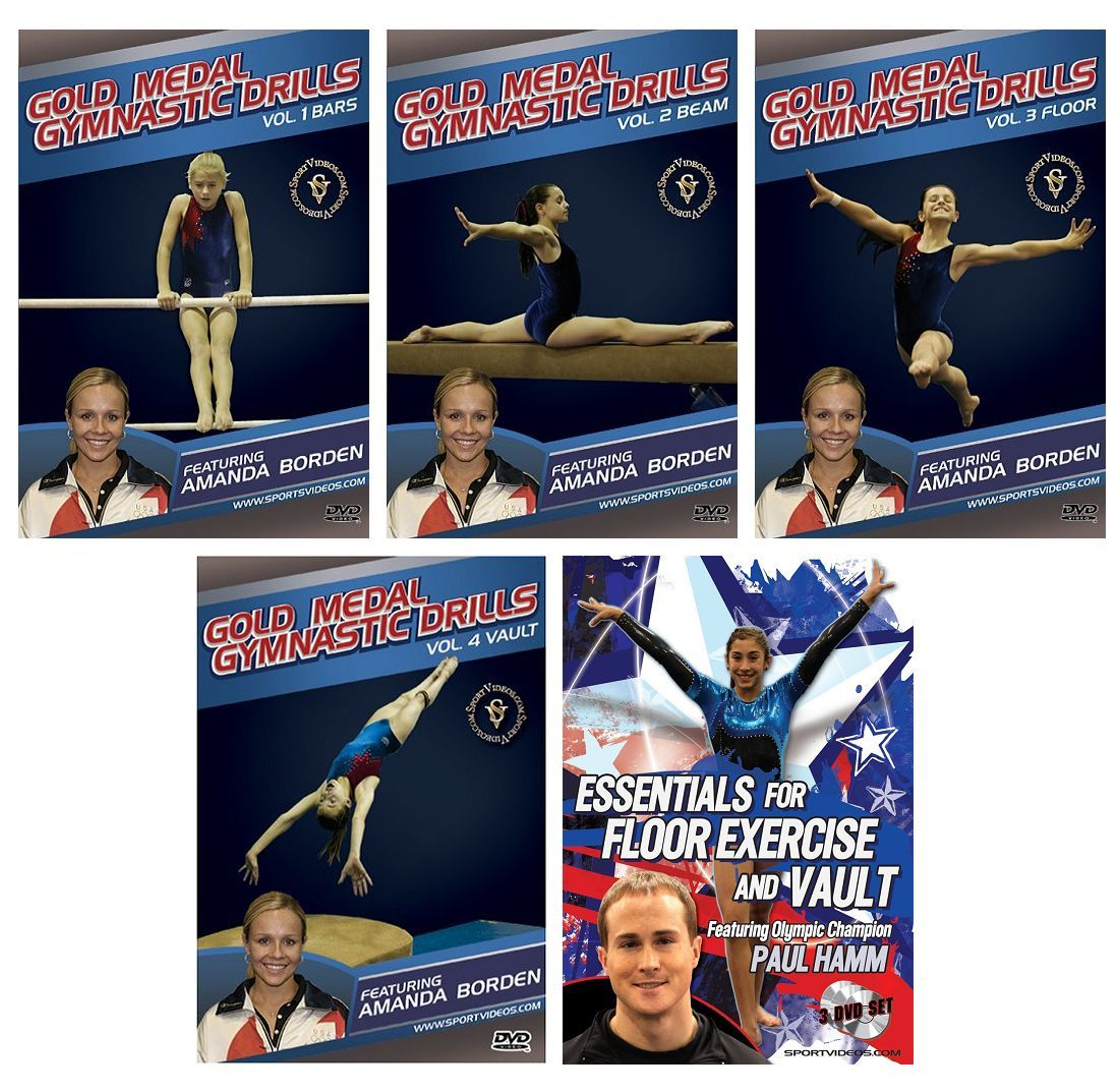 Gymnastics 7 DVD or Download Set  - Free Shipping