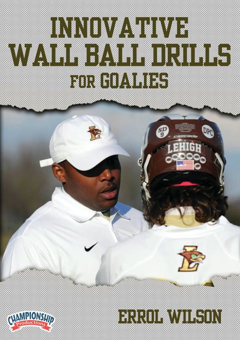 Innovative Wall Ball Drills for Goalies DVDs