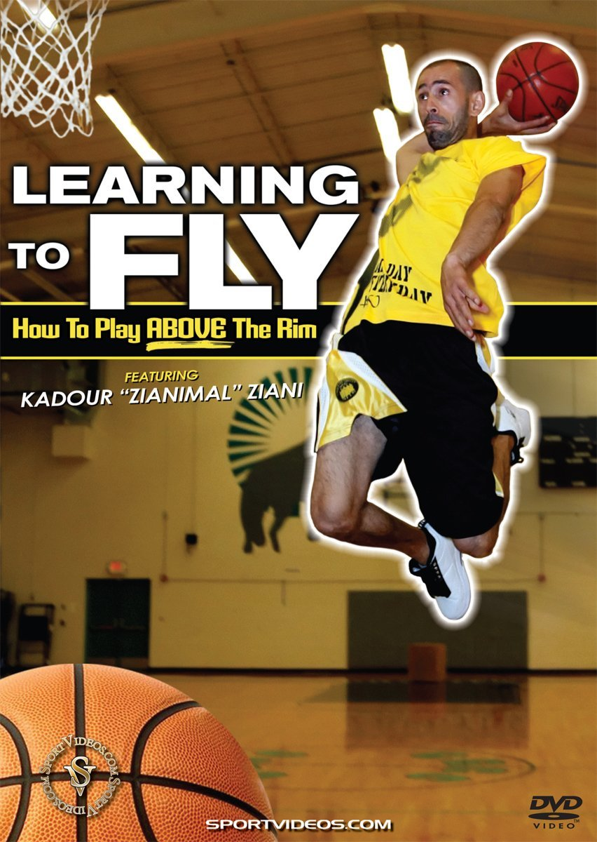 Learning to Fly: How to Play Above the Rim DVD with Coach Kadour Ziani