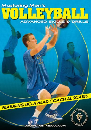 Mastering Men's Volleyball: Advanced Skills and Drills DVD with Coach Al Scates