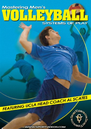 Mastering Men's Volleyball: Systems of Play DVD with Coach Al Scates