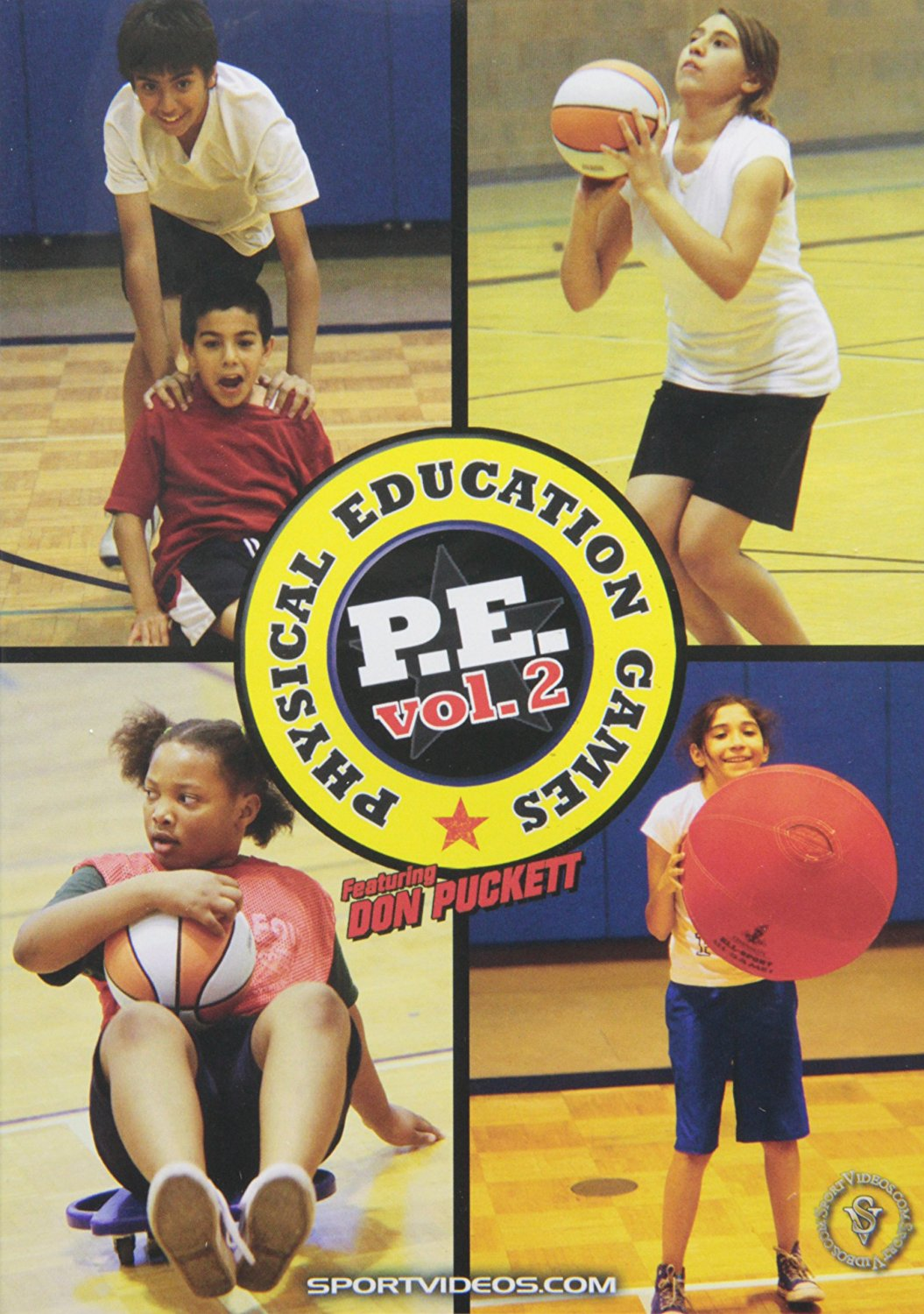 Physical Education Games Vol 2 DVD with Coach Don Puckett