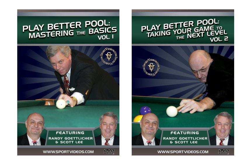 Play Better Pool DVD Set - Free Shipping
