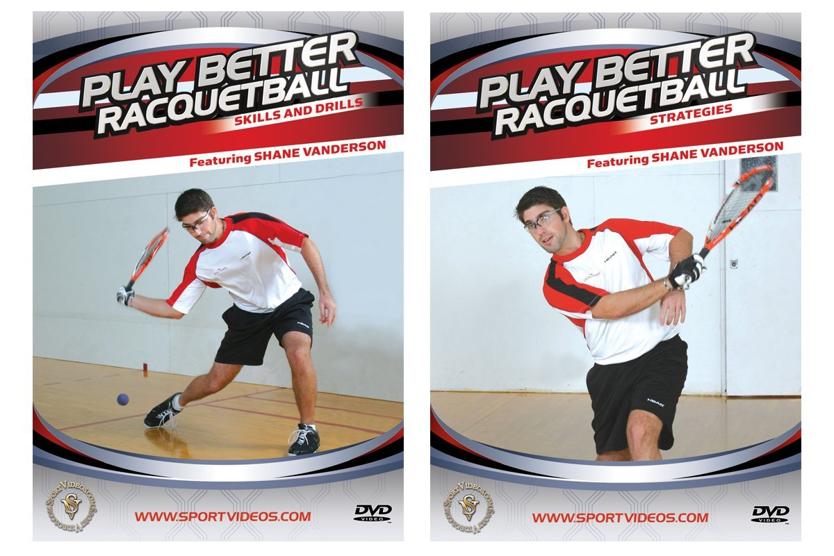 Play Better Racquetball DVD Set - Free Shipping