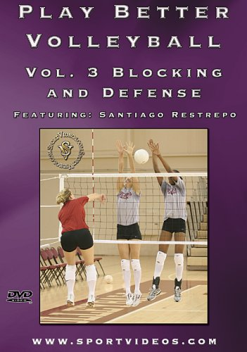 Play Better Volleyball Blocking and Defense DVD or Download - Free Shipping
