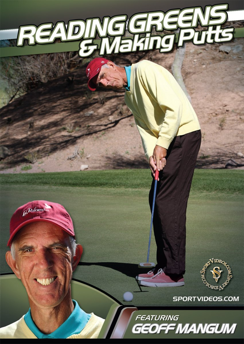 Reading Greens and Making Putts DVD or Download - Free Shipping