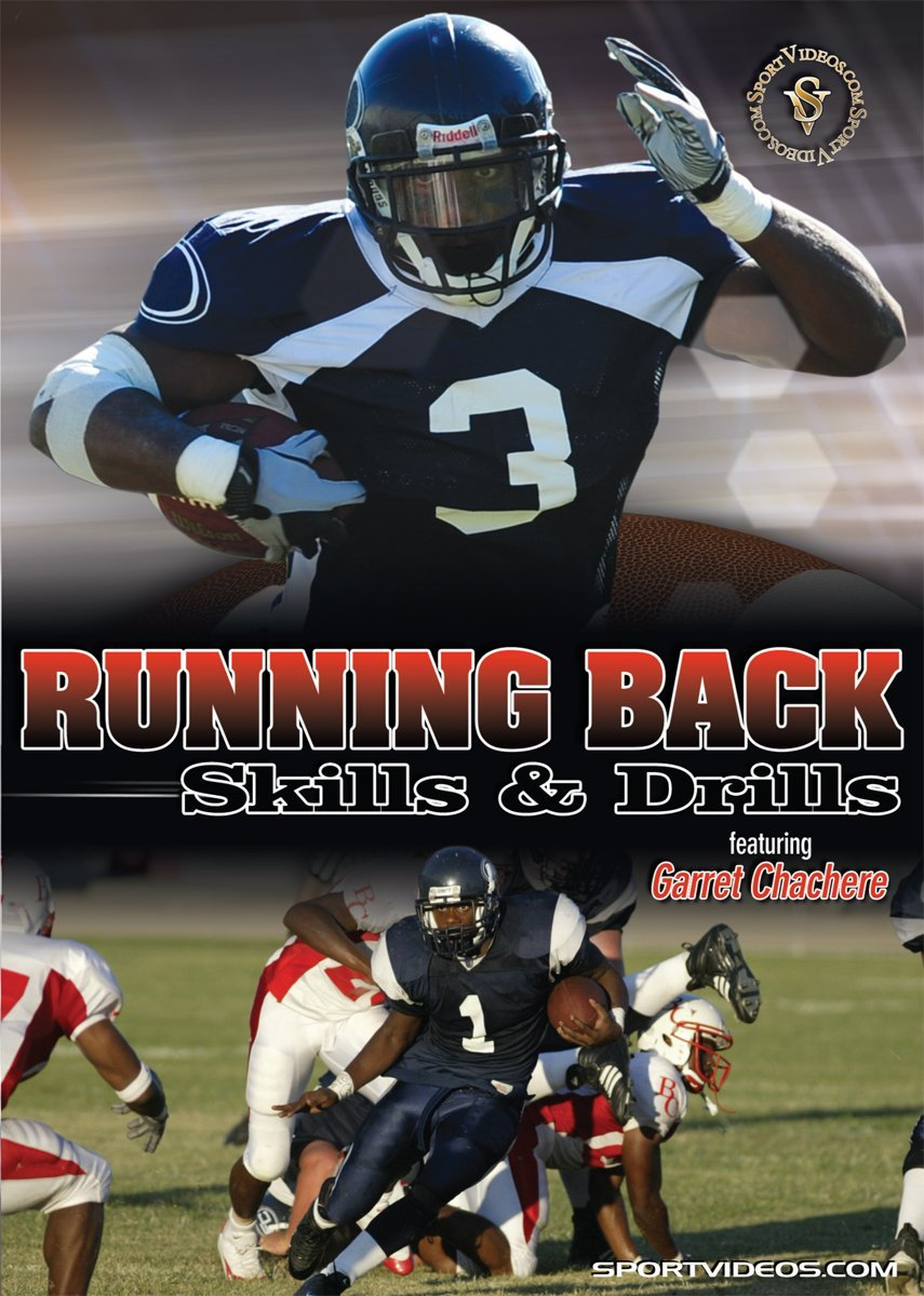 Running Back Skills and Drills DVD or Download - Free Shipping