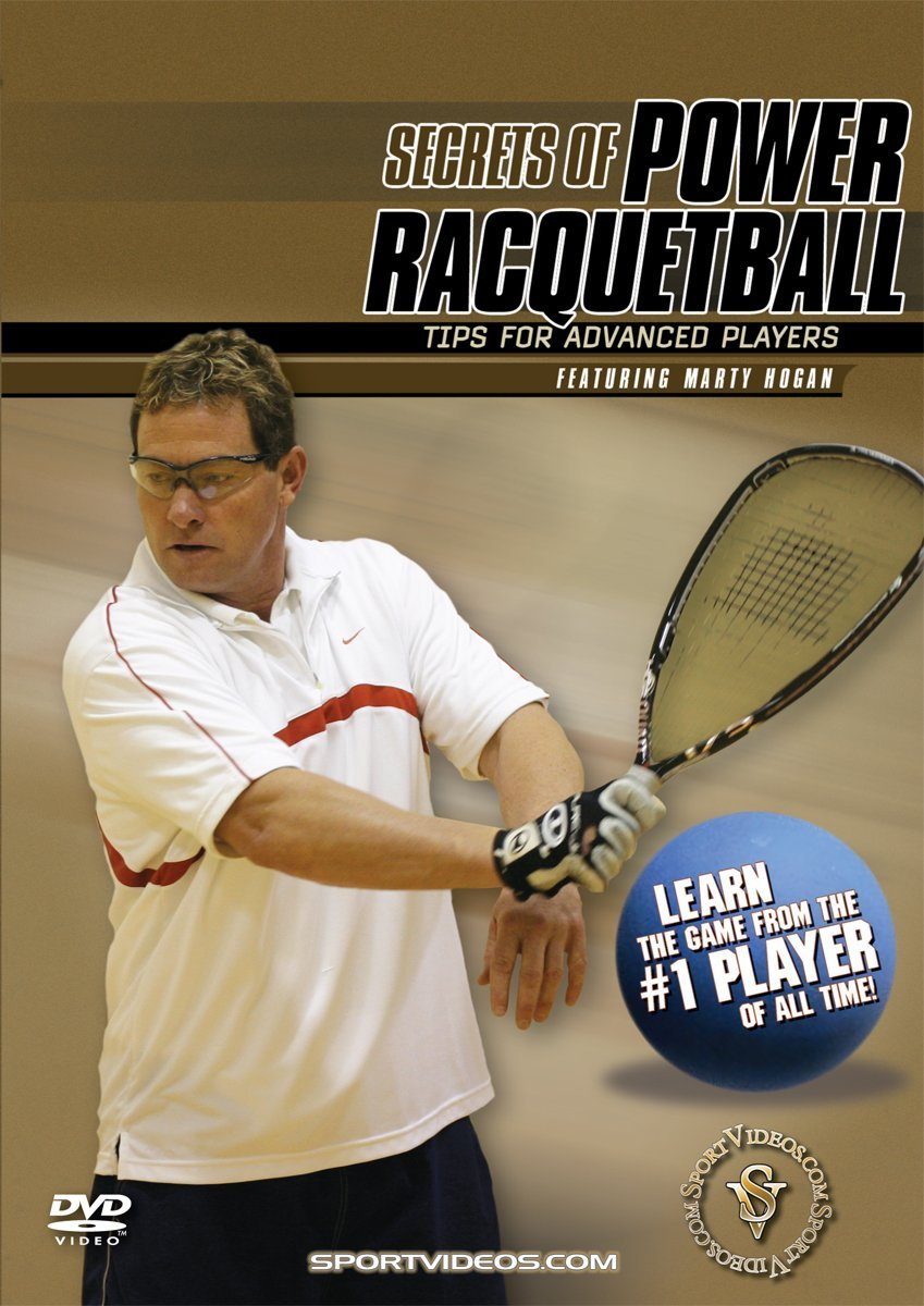 Secrets of Power Racquetball: Tips for Advanced Players DVD