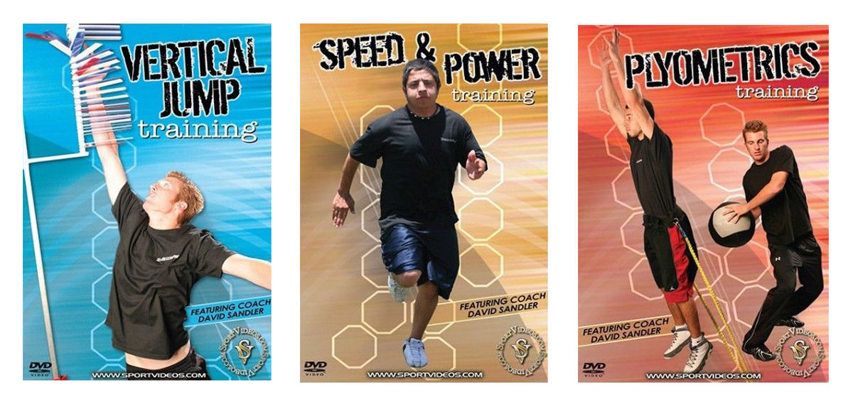 Sports Training 3 DVD Set or Download - Free Shipping