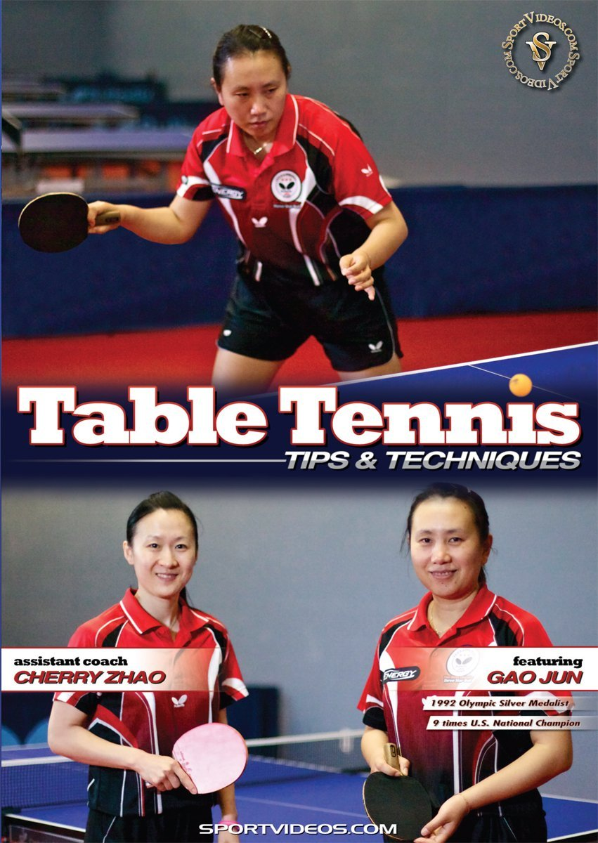 Table Tennis Tips and Techniques DVD with Coach Gao Jun