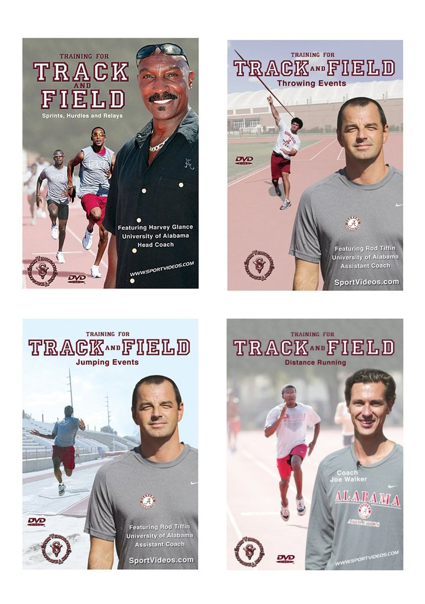 Training for Track and Field DVD Set - Free Shipping