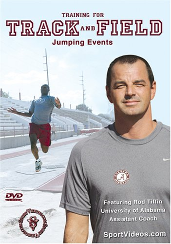 Training for Track and Field: Jumping Events DVD with Coach Rod Tiffin