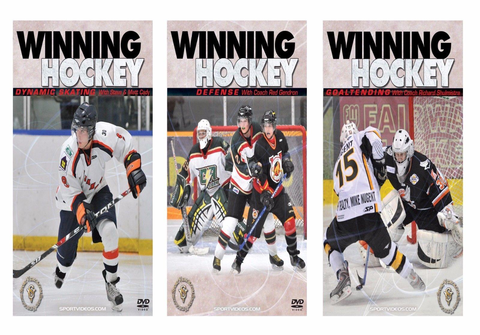 Winning Hockey 3 DVD Set  - Free Shipping