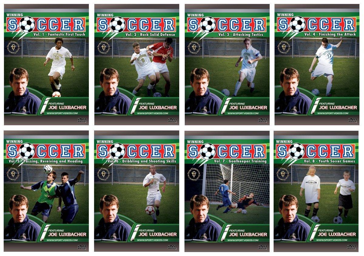 Winning Soccer DVD or Download Set  - Free Shipping