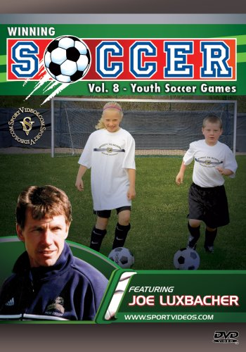 Winning Soccer: Youth Soccer Games DVD with Coach Dr. Joseph Luxbacher