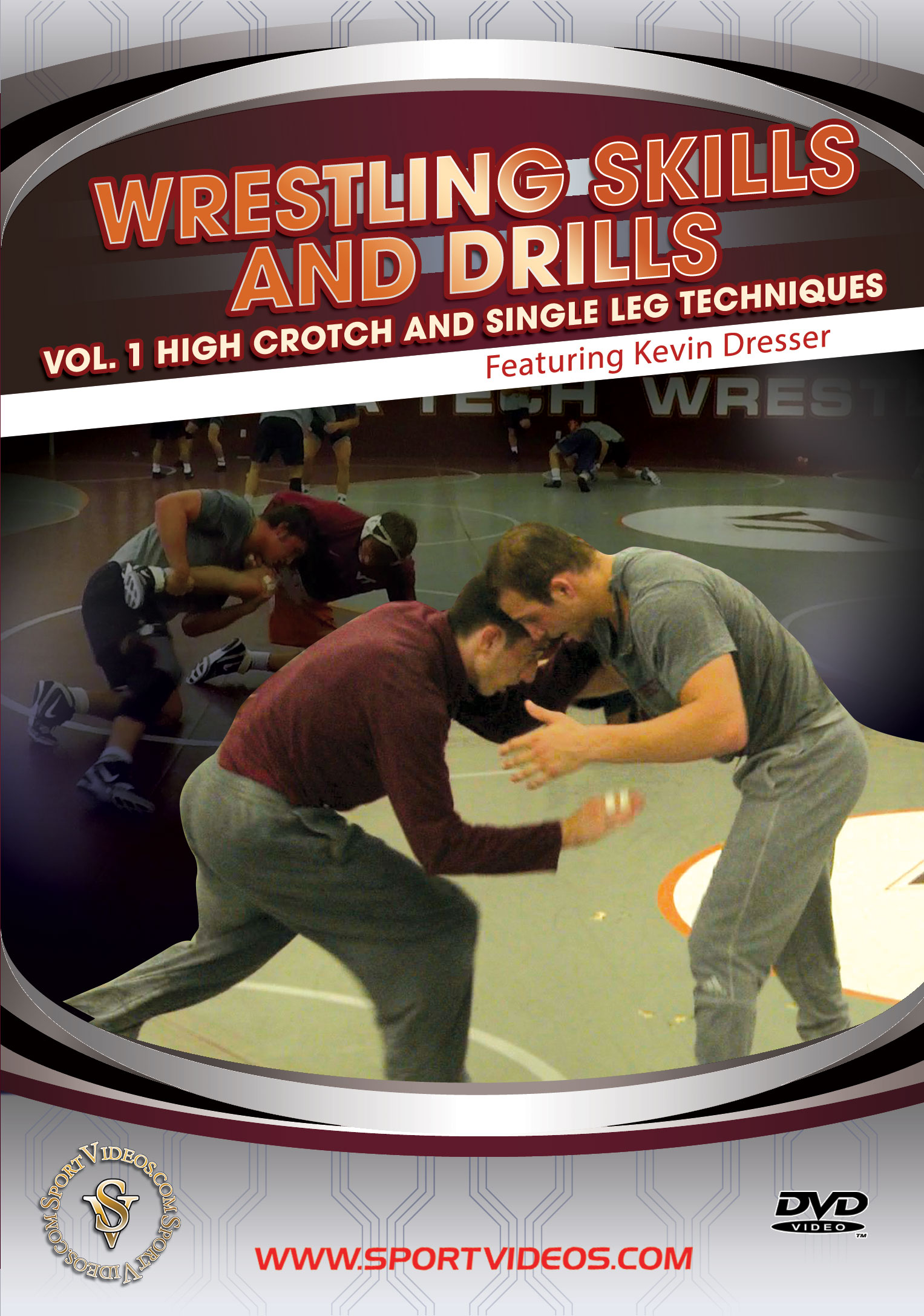 Wrestling Skills and Drills - Vol. 1 High Crotch and Single Leg Techniques Download