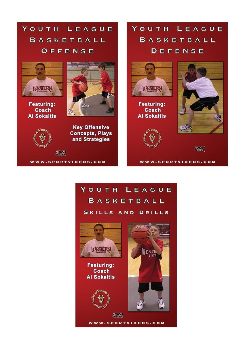 Youth League Basketball DVD Set - Free Shipping