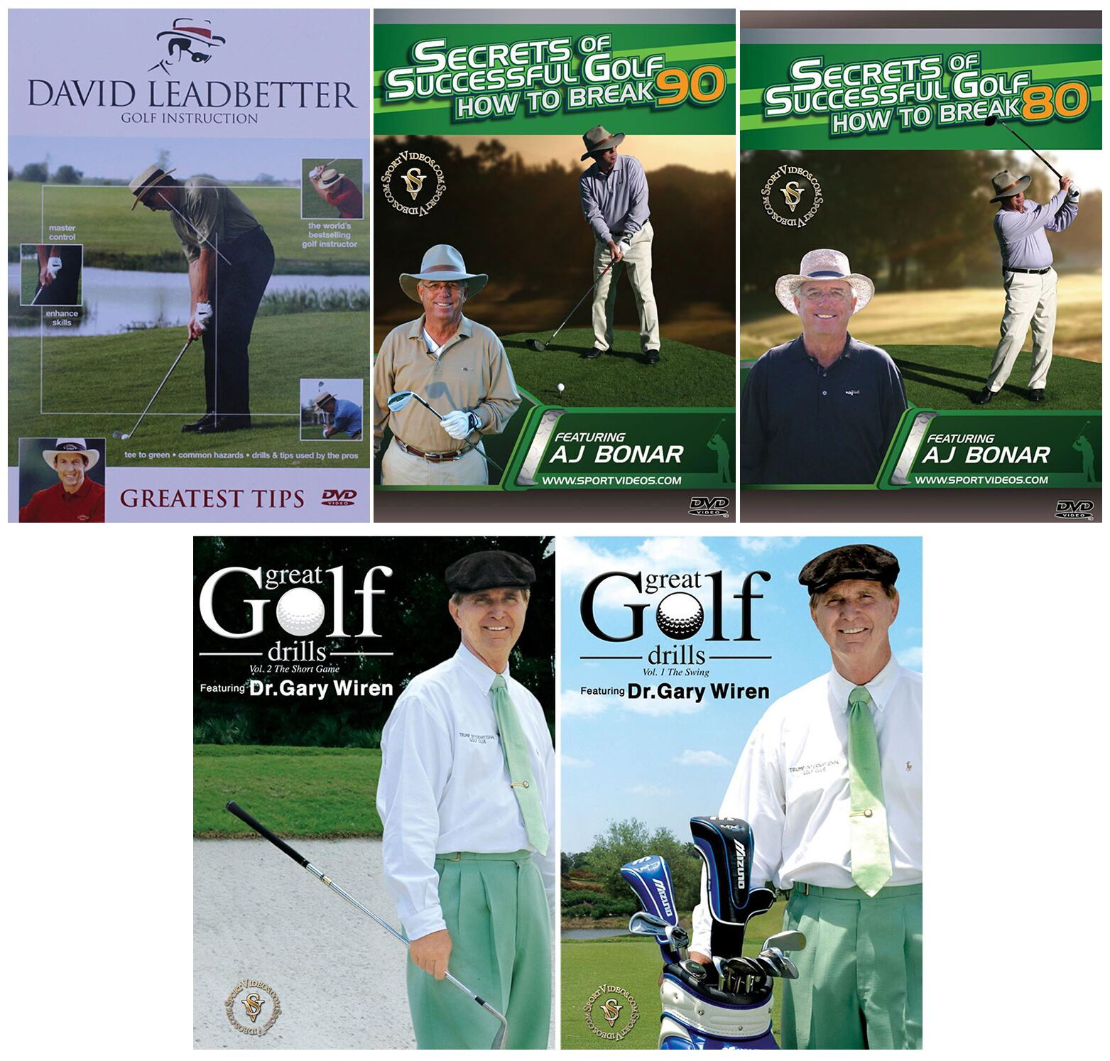 Golf 5 DVD Set