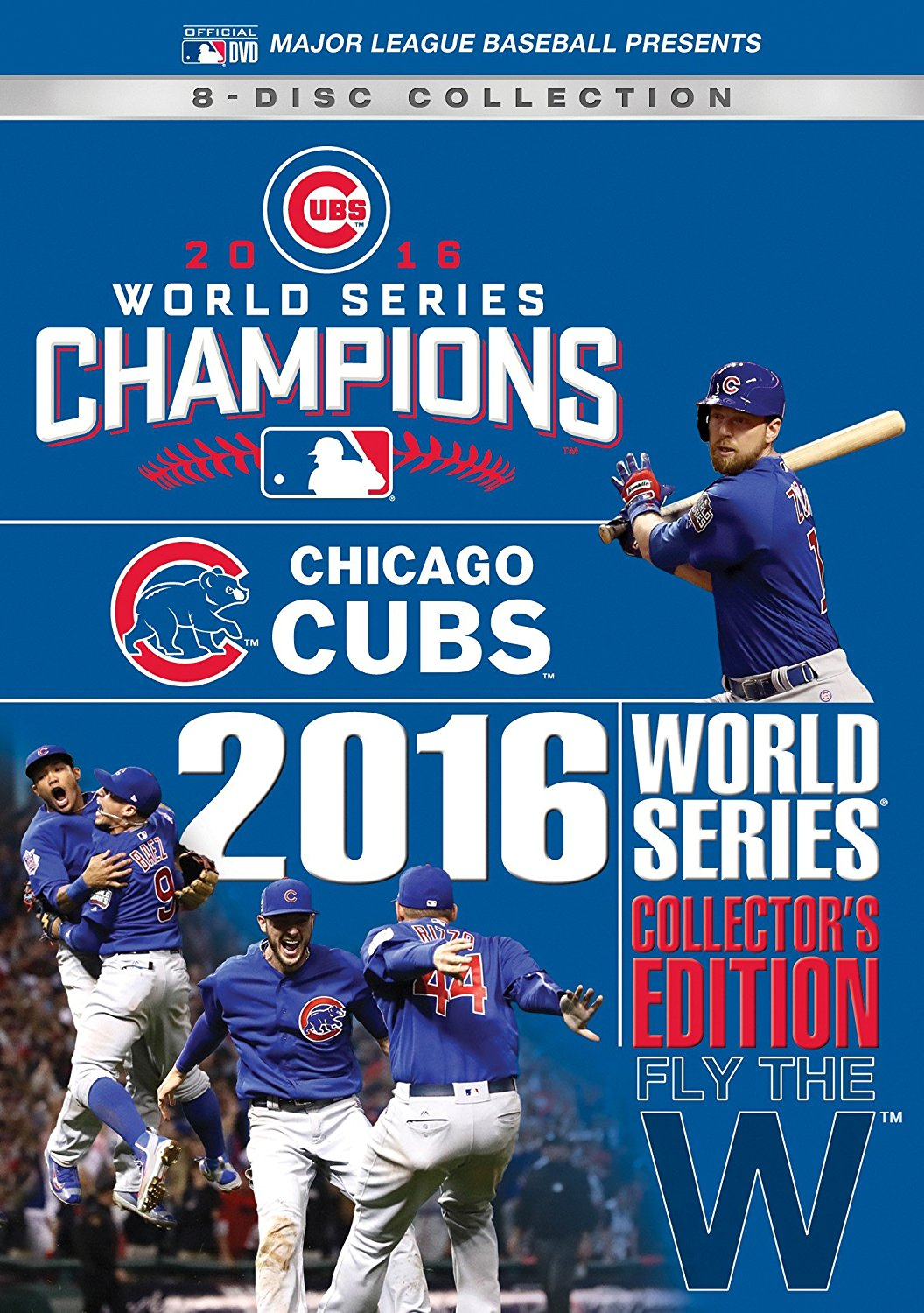 Chicago Cubs 2016 World Series Collector's Edition DVD or Blu-ray - Free Shipping