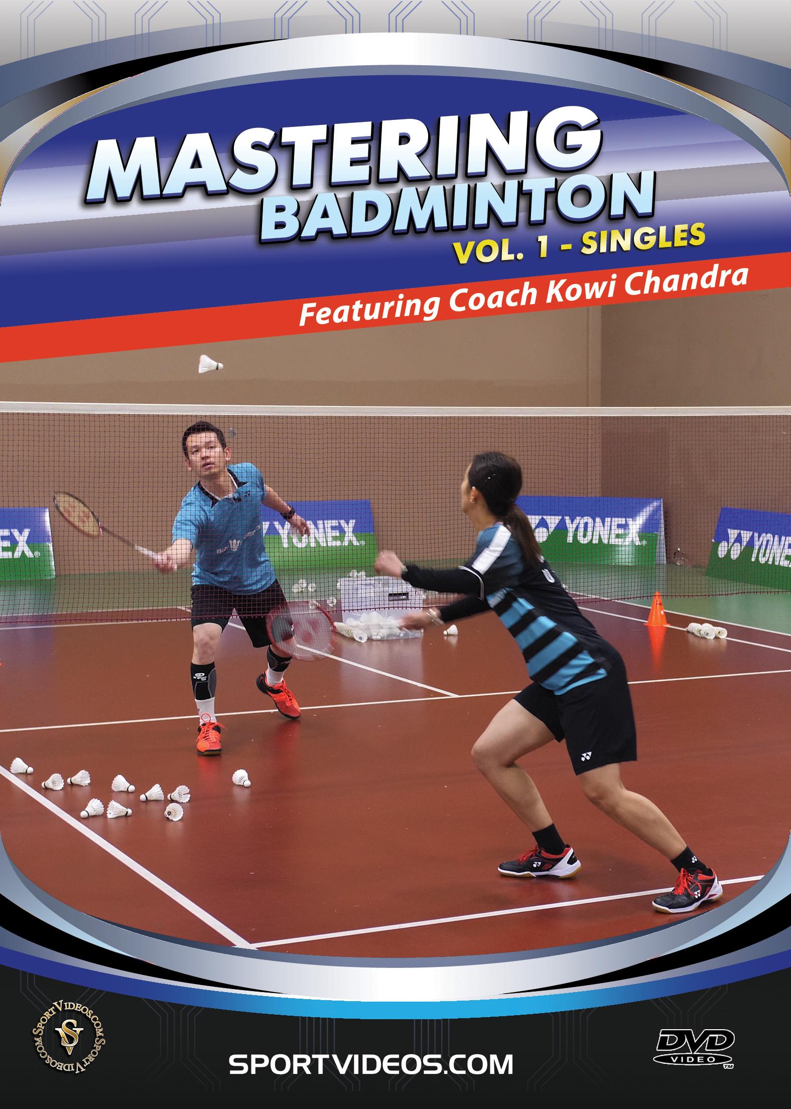 Mastering Badminton Vol. 1 - Singles DVD or Download - Coming in April 2019.