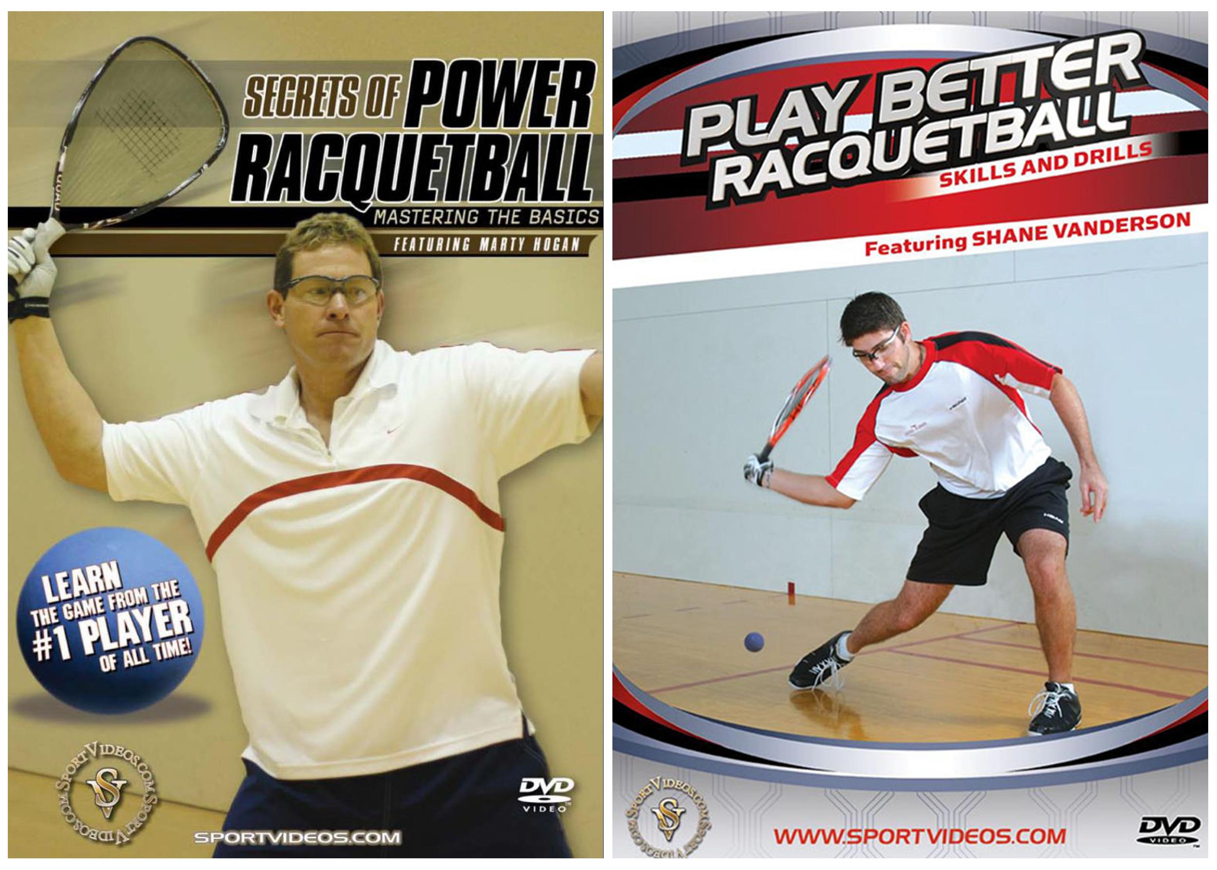2 Racquetball DVD Set