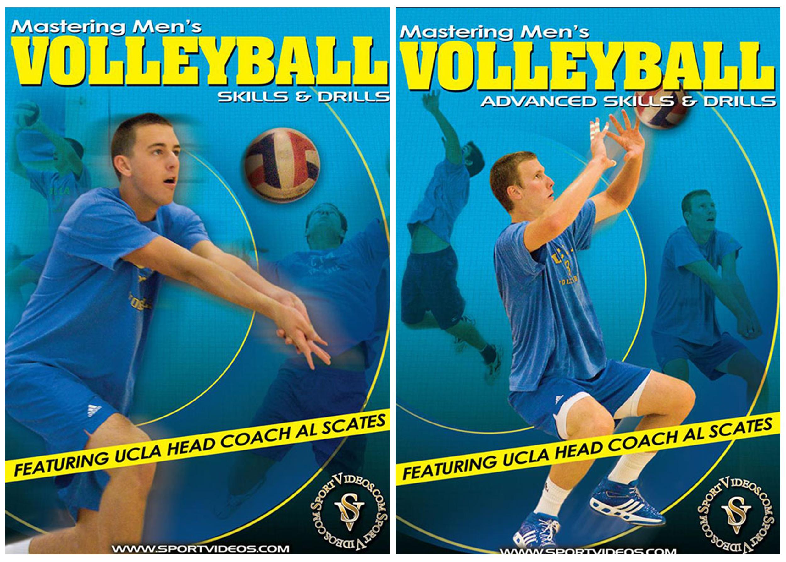 Mastering Men's Volleyball Skills and Drills 2 DVD Set