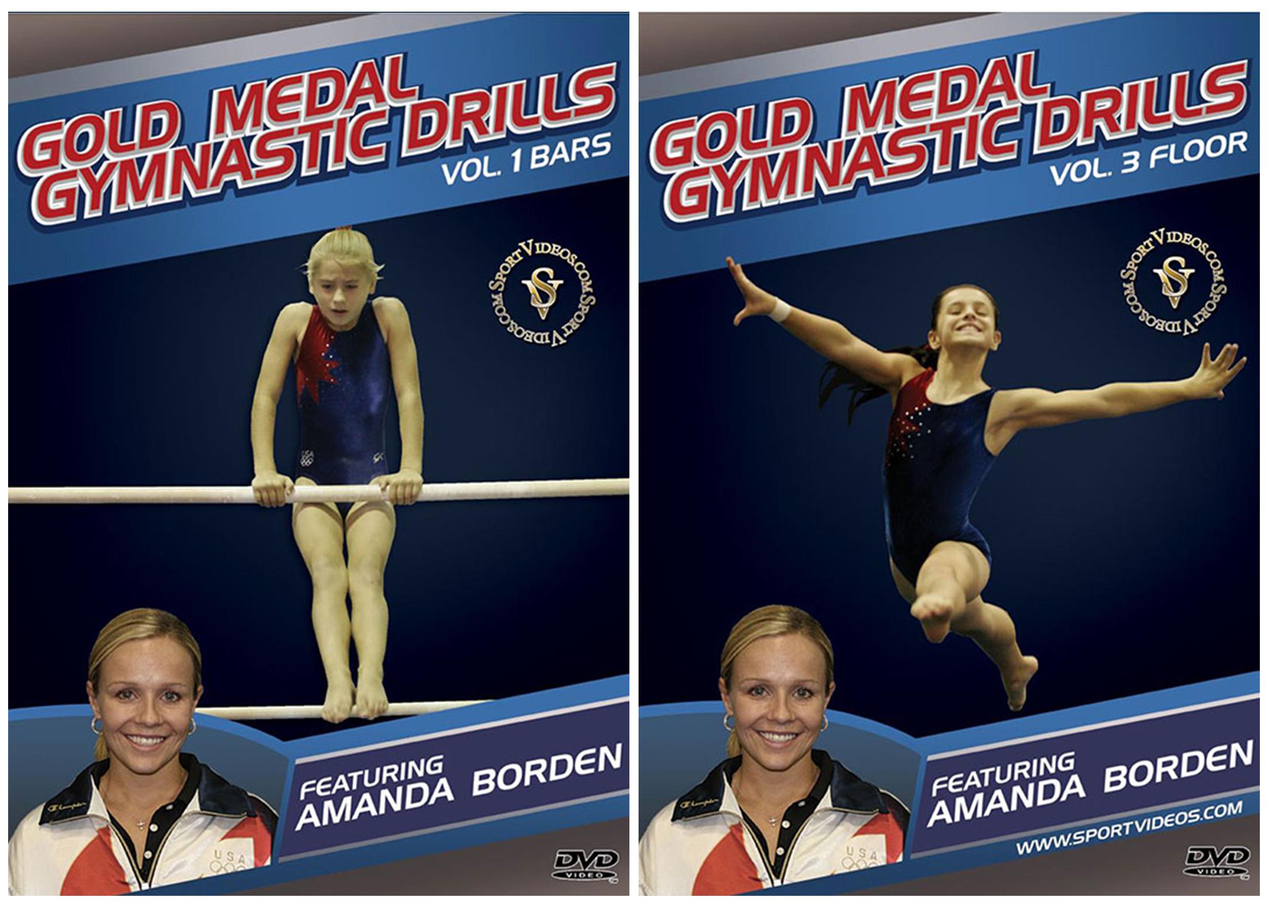 Gold Medal Gymnastics 2 DVD Set