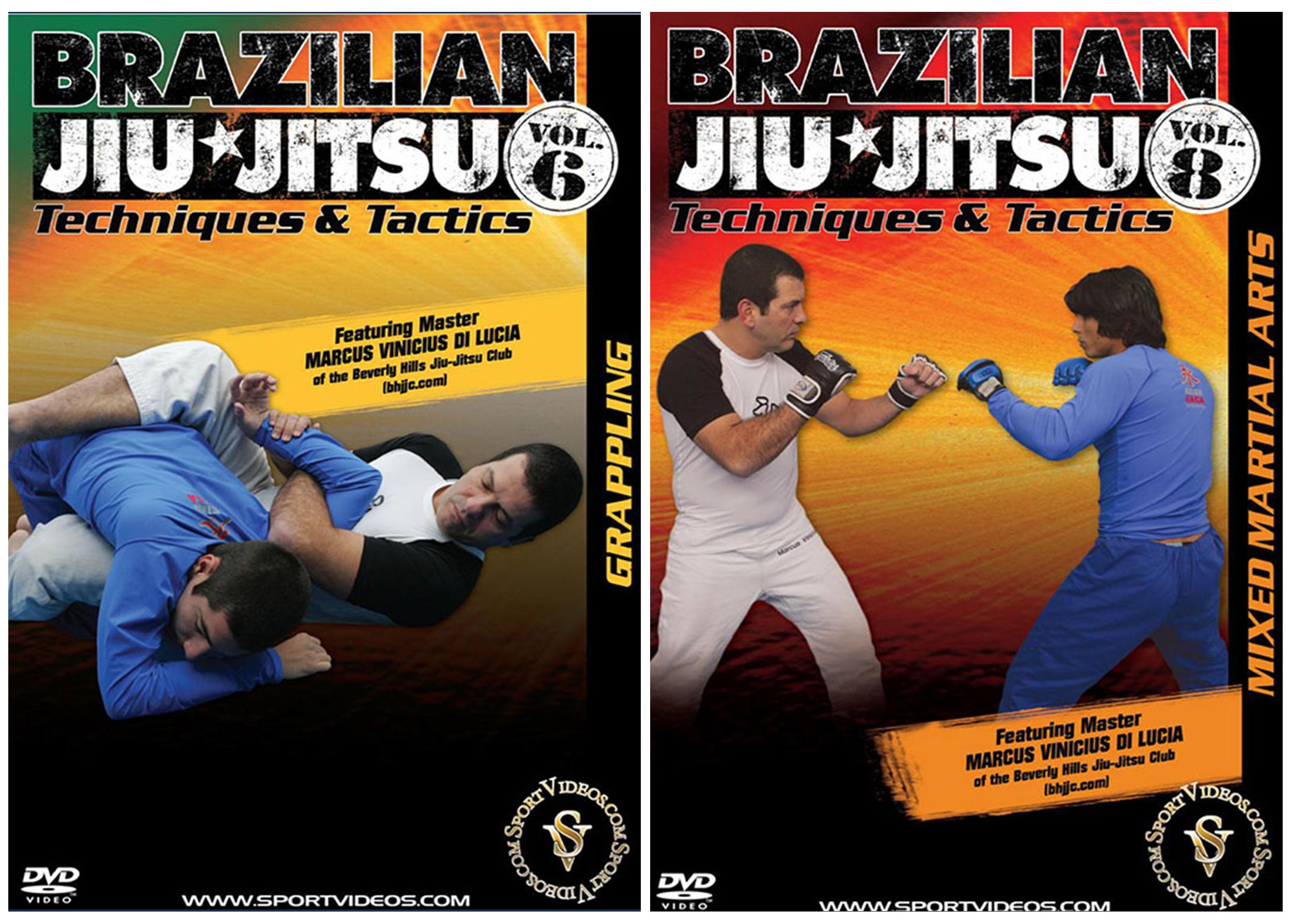 Brazilian Jiu Jitsu Techniques and Tactics 2 DVD Set