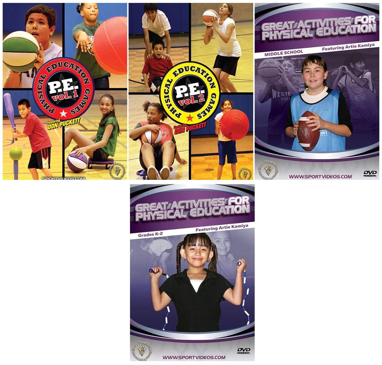 Physical Education 4 DVD Set