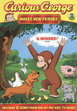 Curious George Makes New Friends DVD-Brand New - Free Shipping