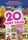 Scholastic Storybook Treasures: The Classic Collection: 20 Fairy Tales (New DVD) - Free Shipping
