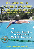 Becoming a Faster Swimmer: Starts, Turns, Finishes DVD or Download - Free Shipping