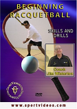Beginning Racquetball DVD or Download - Free Shipping