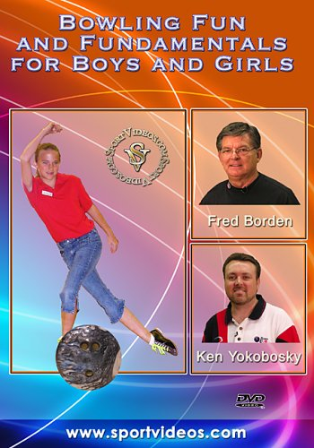 Bowling Fun and Fundamentals DVD with Coach Fred Borden- Free Shipping
